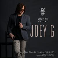 JOEY G. AT 12 MONKEYS MUSIC HALL & PUB