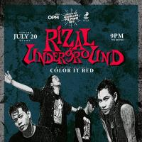 THE RIZAL UNDERGROUND AT THE 70'S BISTRO
