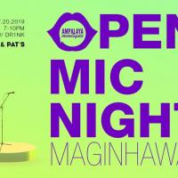 OPEN MIC NIGHT BY AMPALAYA MONOLOGUES AT JESS & PAT'S