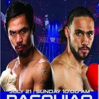 PACQUIAO VS THURMAN FIGHT AT FINDS RESTAURANT ROXAS