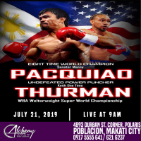 PACQUIAO VS. THURMAN LIVE AT ALCHEMY BISTRO BAR