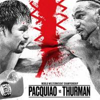 PACQUIAO VS THURMAN AT BAR 360 RESORTS WORLD MANILA