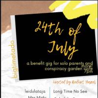 24TH OF JULY AT CONSPIRACY GARDEN CAFE
