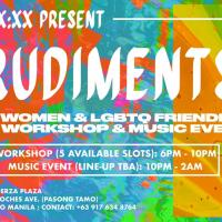 RUDIMENTS (A WOMEN & LGBTQ FRIENDLY DJ WORKSHOP) AT XX XX