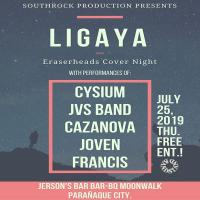 LIGAYA (ERASERHEADS COVER NIGHT) AT JERSON'S BAR B-Q