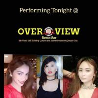 COVER GIRLS AT OVERVIEW RESTO BAR