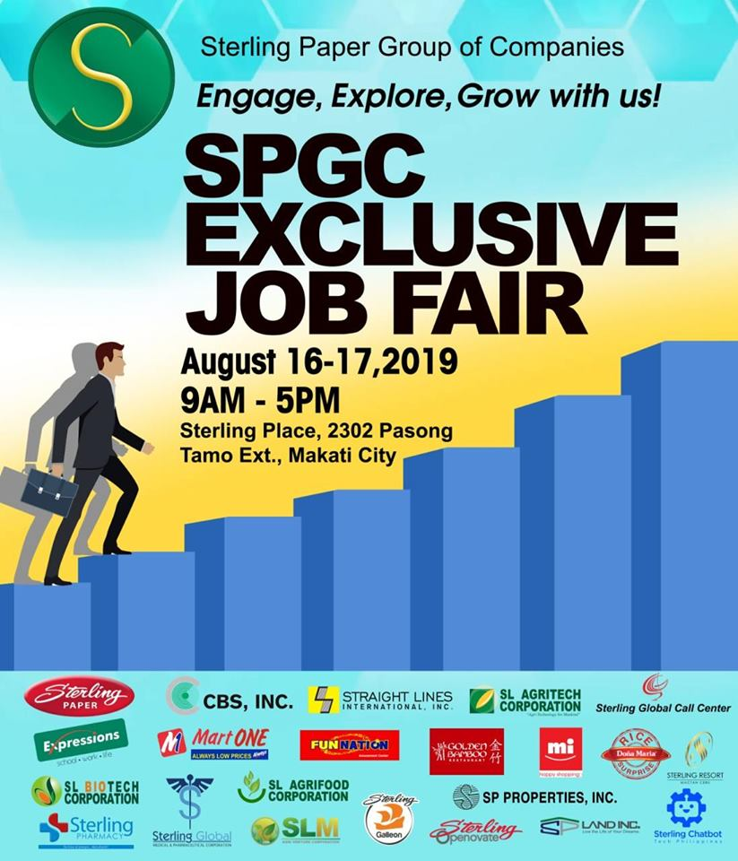 SPGC Exclusive Job Fair
