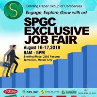 SPGC Exclusive Job Fair
