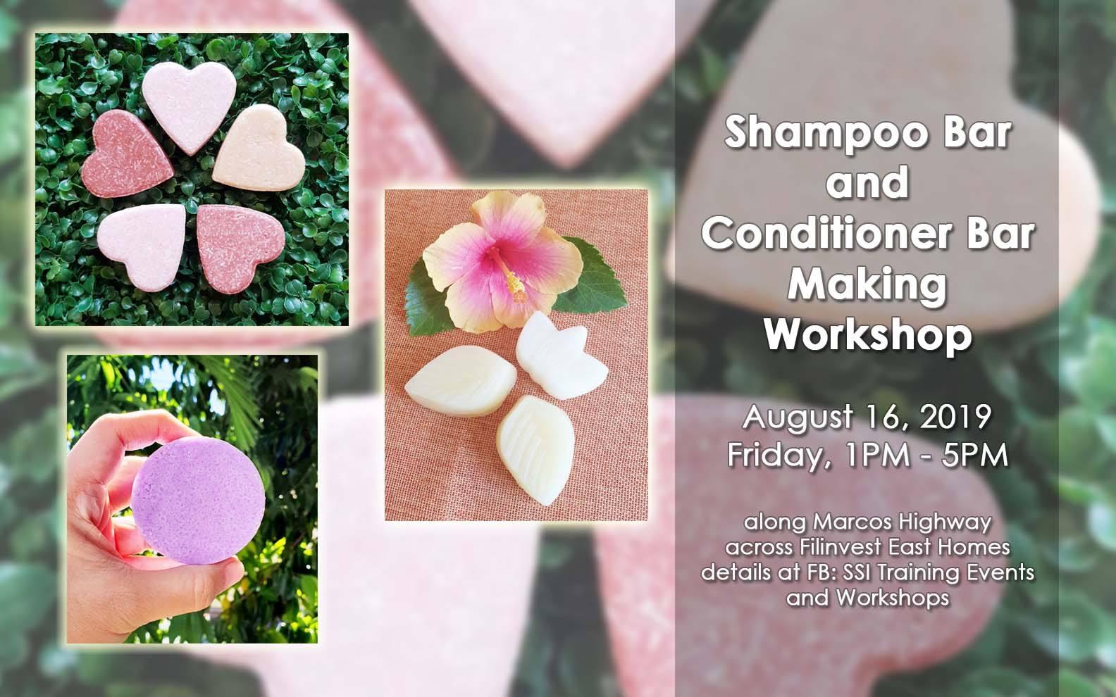 Shampoo Bar and Conditioner Bar Making Workshop