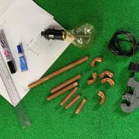 Copper Pipe Lamp Making Workshop