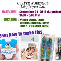 Souvenir Workshop using polymer clay