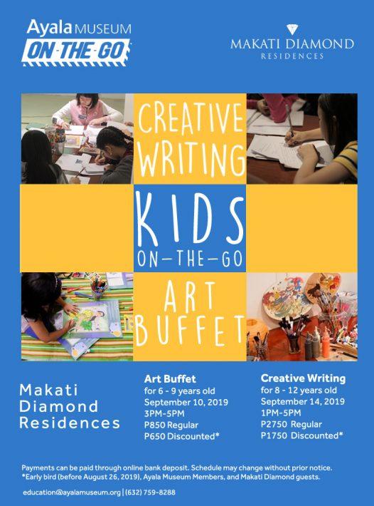 Kids On-The-Go: Creative Writing Workshop & Art Buffet