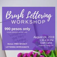 Brush Lettering Workshop