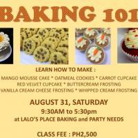 Baking 101 (for beginners)