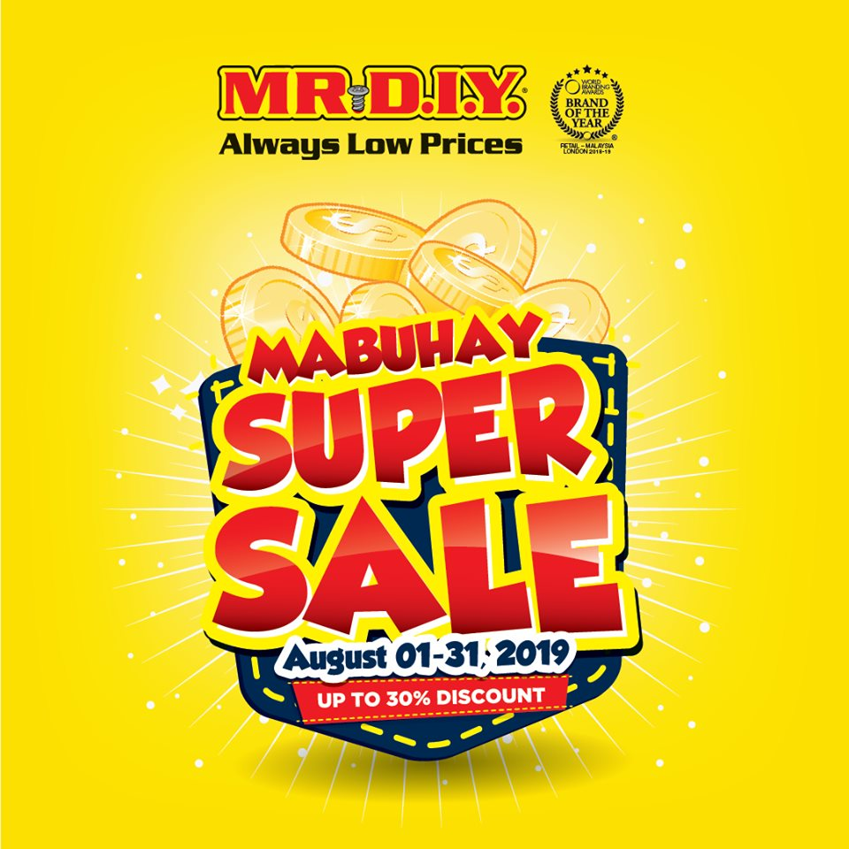 MR. DIY MABUHAY SUPER SALE