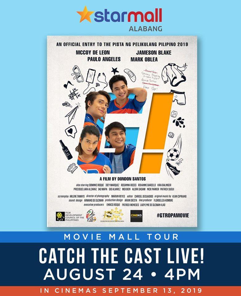 the cast of G! of Pista ng Pelikulang Pilipino live