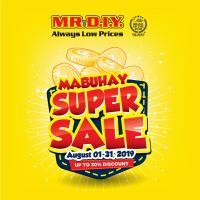 MR. DIY MABUHAY SUPER SALE