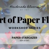 The Art of Paper Flowers (Workshop Series)