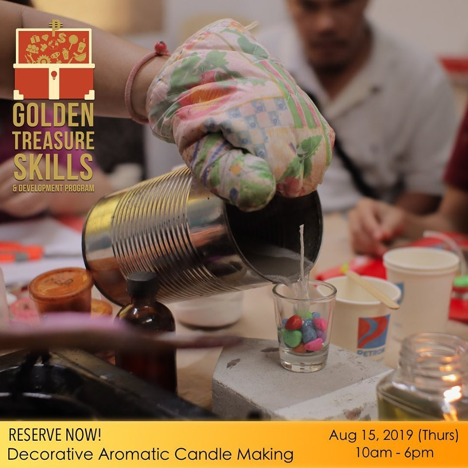 Decorative and Aromatic Candle Making seminar