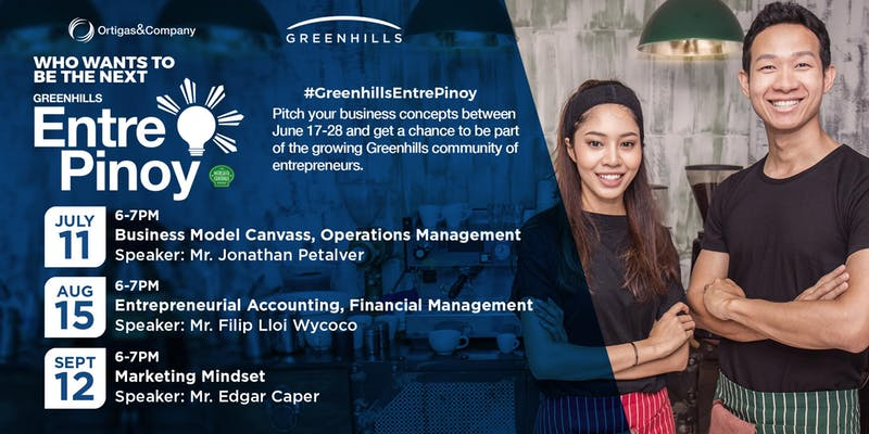 Greenhills EntrePinoy: Entrepreneur Talks and Workshops