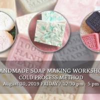 Handmade Soap Making Workshop - Cold Process Method