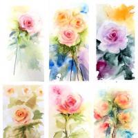 Atmospheric Roses: Floral Watercolor Workshop