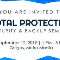 Total Protection: Security & Backup Seminar