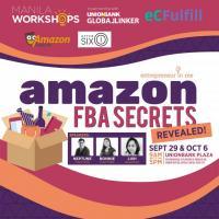 Manila Workshops: Amazon FBA Secrets Revealed!