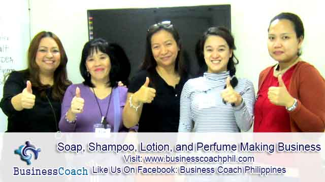 Soap, Shampoo, Lotion, and Perfume Making Business