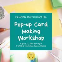 Pop-Up Card Making Workshop