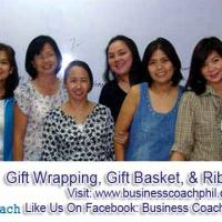 Gift Wrapping, Gift Basket, and Ribbon Making Workshop
