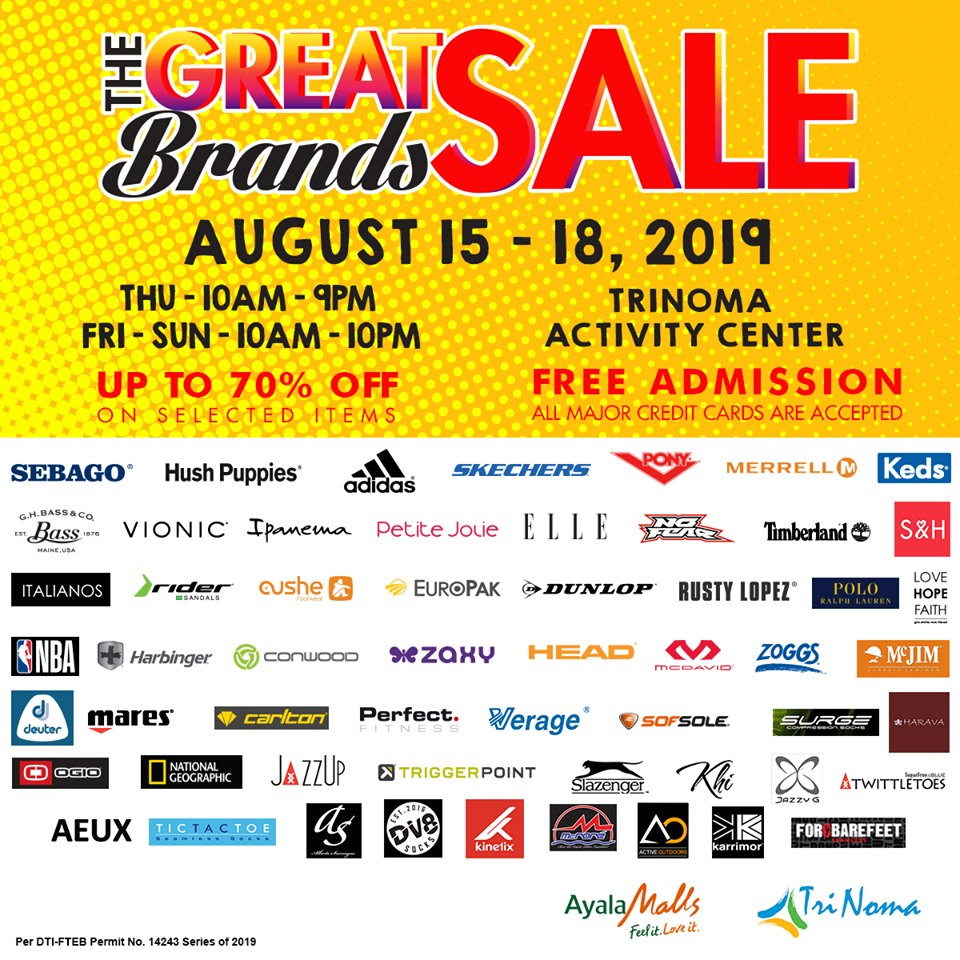 THE GREAT BRANDS SALE