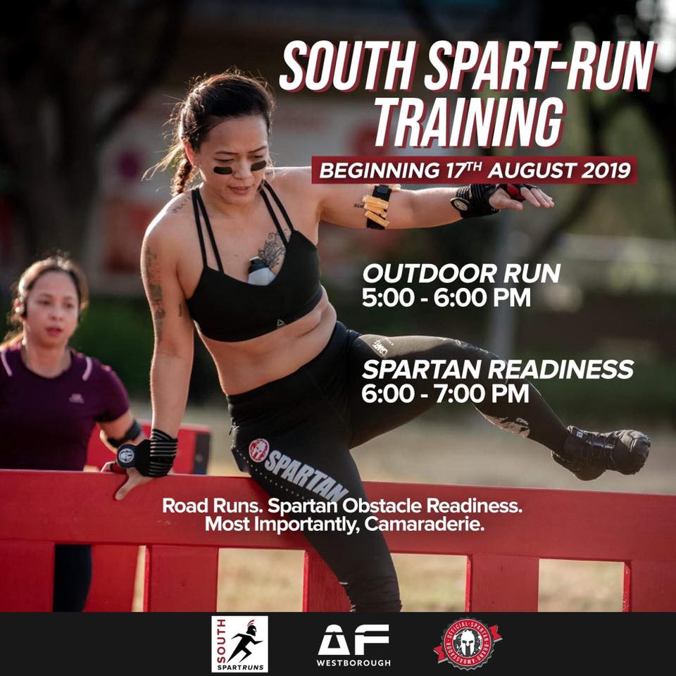 South Spart-RUN Training - Launch