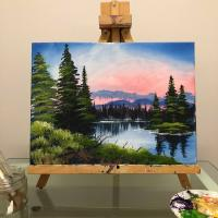Paint Like Bob: Island in the Wilderness