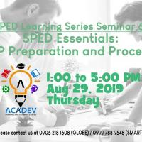 S6 SPED Essentials: IEP Preparation and Process