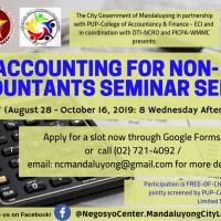 Accounting for Non-Accountants Batch 7