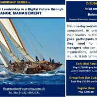 Public Workshop: Change Management