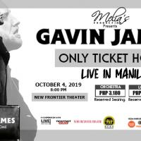 Gavin James Only Ticket Home Live in Manila