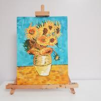 """Paint the Painting: Vincent Van Gogh's """"Sunflowers"""" Workshop"""