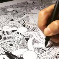 Doodle Art with Lettering Workshop
