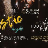 Rustic Night Grand Food Tasting