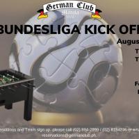 Bundesliga Kick off & Table Soccer Tournament