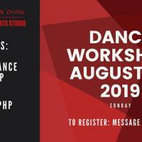 Dance Workshop August