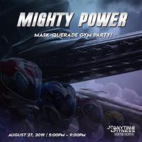 Mighty Power Mask-querade Gym Party