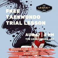 Taekwondo Free TRIAL Lesson