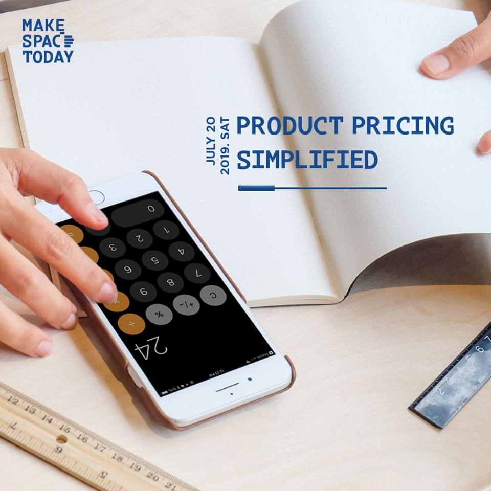 Workshop : Product Pricing Simplified