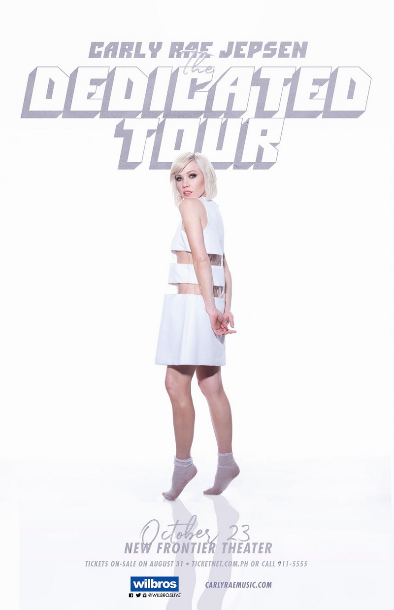 Carly Rae Jepsen : The Dedicted Tour
