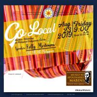Go Local: Lecture Workshop on Philippine Indigenous Textile