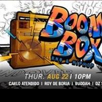 BOOMBOX: RNB & HIP HOP NIGHT AT COVE MANILA