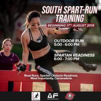 South Spart-Run Training 8/24